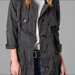 Free People Military Parka